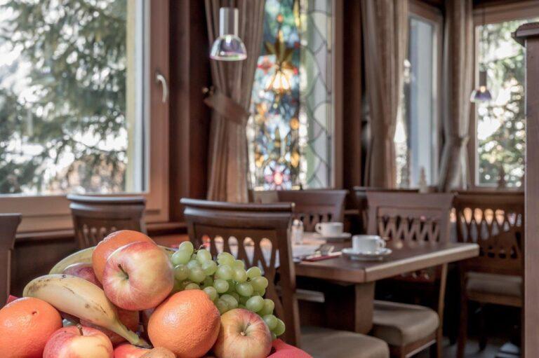 Fruehtueck im Hotel Caroline  Ischgl